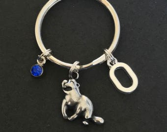 Personalized Otter Keychain Otter Gift