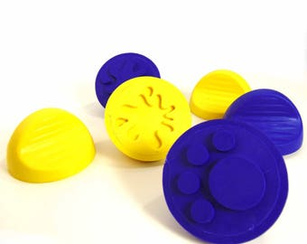 Child's dough stampers