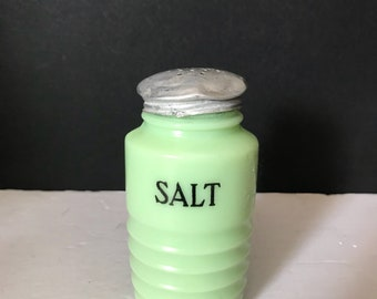 Jadite Salt Shaker
