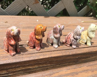 Carved Dog Figurine