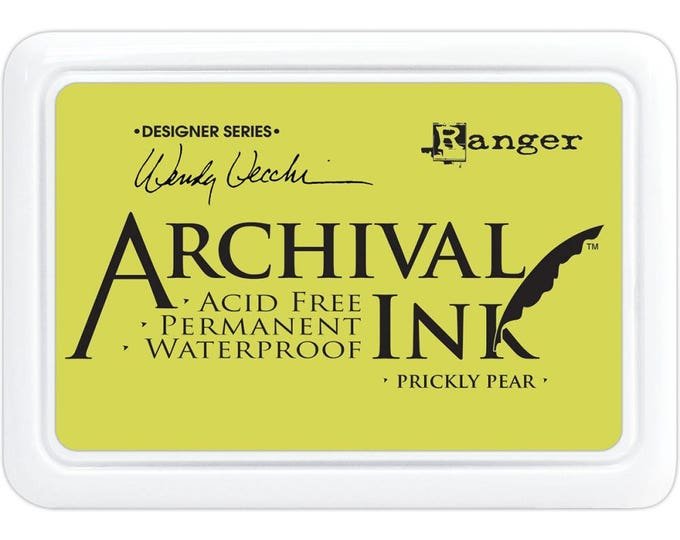 New! PRICKLY PEAR Wendy Vecchi Archival Ink Pad by Ranger