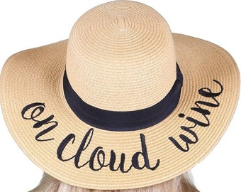 On Cloud Wine sun hat