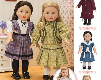 Simplicity 1179- Sewing pattern for 18 Inch Doll Clothes- Fits American Girl Dolls-