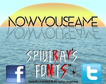 NOW YOU SEAME Commercial Font