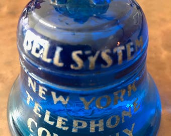 BELL SYSTEM PAPERWEIGHT Antique New York Telephone Company