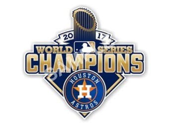 World Series 2017 Houston Texas Astros 16 Inch Wide Large Bottle Cap Wall Hanging