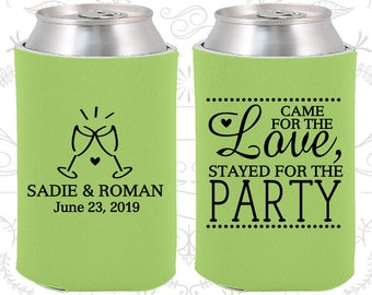 Came for the Love, Stayed for the Party, Wedding Gift Ideas, Love Wedding Gift, Romantic Wedding Gift, Romantic Favors (404)