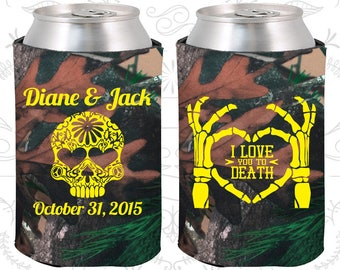 Camouflage Wedding, Camouflage Can Coolers, Camouflage Wedding Favors, Camouflage Wedding Gift, Camouflage Party Favors (205)