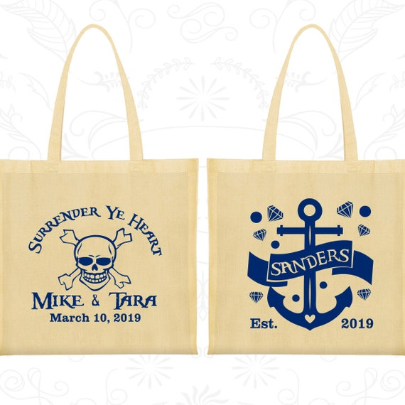 anchor bags cheap tote bag canvas surrender ye heart nautical
