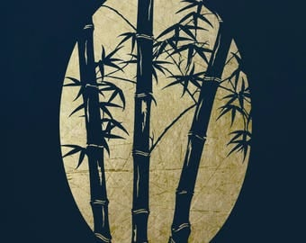 Bamboo #3, Stencil for Art,  ST6