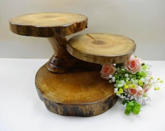 Cupcake Stand, Rustic Wood Stand,Tiered Cupcake Stand, Tiered Wooden Stand, Centerpiece, Rustic Wedding Decor, Tiered Cake Stand