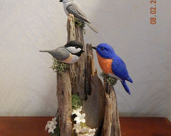 Miniature Songbird Grouping 3