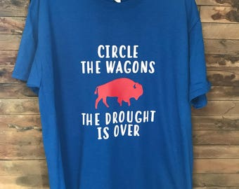 Buffalo Bills Circle the Wagons T Shirt