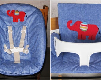 Washable Newborn-cover + seat cushion for Tripp Trapp Stokke
