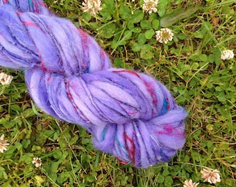 JEWELTONE - Handspun Merino Art Yarn - 58 YDS
