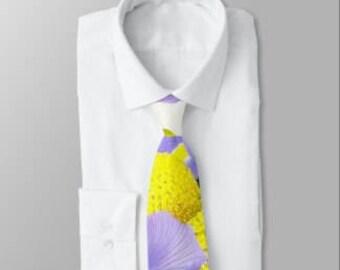 "Wearable Art Necktie ""Wedding Bouquet"""