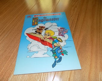The Pagemaster Coloring Book 1994 Uncolored Page Master Golden Books