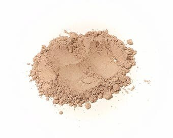 CARAMEL CREAM Soft Shimmer Mineral Foundation - Natural Mineral Makeup Vegan Gluten free