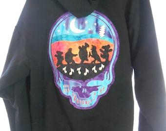 grateful dead terrapin sunset hoodie