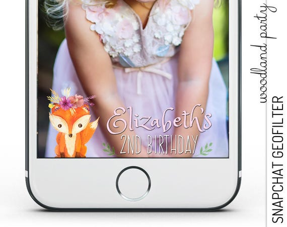 Woodland Snapchat GeoFilter