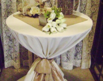 "SET of 15 SPECIAL OFFER 20"" Burlap Table Squares Sets Topper Overlay Centerpiece Rustic Wedding Reception Decor"