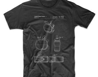 Apple Logo Flip Phone Patent T Shirt, Apple Computer, Steve Jobs, Technology Shirt, Nerd Gift, PP0260