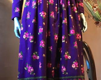 1970s Maxi Dress by I. Magnin