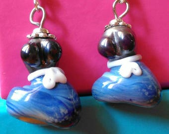 Handmade Glass Earrings