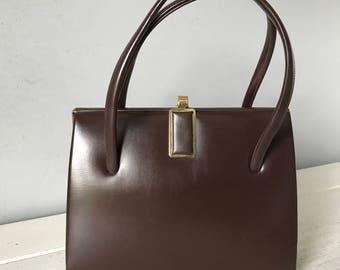 Vintage brown chamelle bag