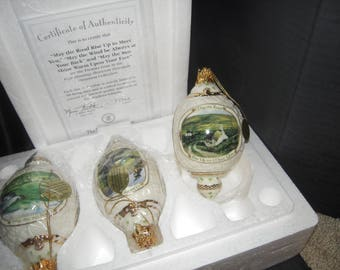 BRADFORD EDITION   Irish Blessing   ornaments  new in box