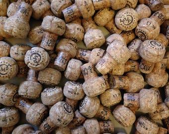 Wine Corks - Bulk Sparkling Wine, Champagne Corks, Natural Cork USED