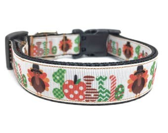 Thanksgiving Dog Collar