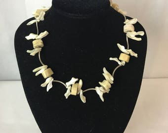 Beuatifuly Unique Shell Link Necklace