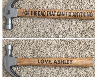 Personalized Hammer / Father's Day gift / gift for Dad