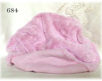RESERVED! MATT Italian Viscose Plush Fabric Fur Hand Dyed Colour (684) 8-9 mm pile 1/8 m teddy bear making supplies