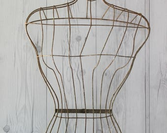 Vintage Wire Mannequin Dress Form, Vintage Wire Art, Vintage Store Clothes/Jewelry Display