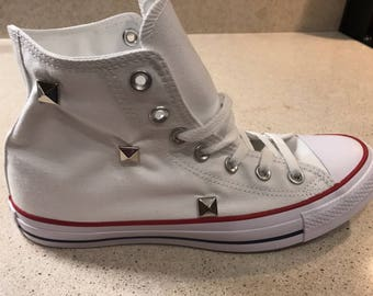 Studded Converse Chuck Taylor All Star Shoes