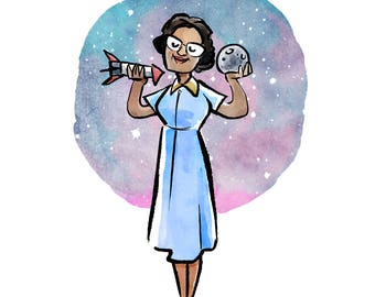 Katherine Johnson Print