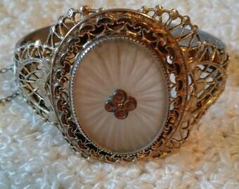Beautiful Camphor Whiting and Davis Bracelet