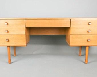 Retro Avalon teak Dressing table  Desk 1960s