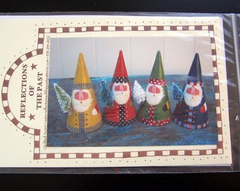 Santa Cones Decorative Painting Pattern Packet