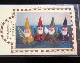 Santa Cones Decorative Painting Pattern Packet