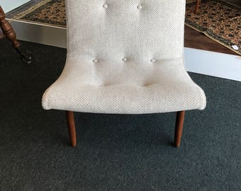 Beautiful Scoop Chair By Milo Baughman! FREE SHIPPING!!