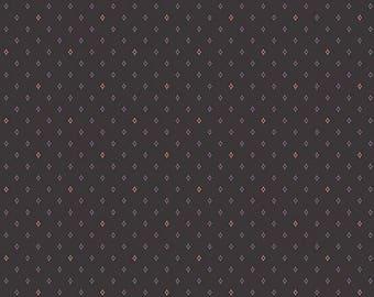 Lampblack - Diamonds Red 8480K - 1/2yd