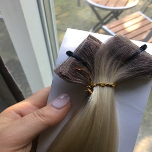 5 Star Ombre Cuticle Remy Human Hair Hand Tied Tape In