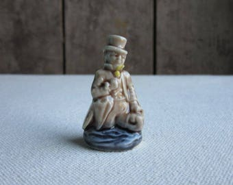 Vintage Wade Nursery Rhyme Character Figure Dr. Foster, Wade Whimsies Porcelain Nursery Figurine,Red Rose Tea,Wade Whimsy England,Dr. Foster