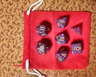 Elegance - 7 Die Polyhedral Set with Pouch