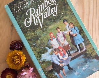 Anne of Green Gables series, Rainbow Valley, book seven, written by LM Montgomery