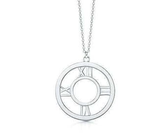 Arber 925 Sterling Silver Plated Necklace - Silver