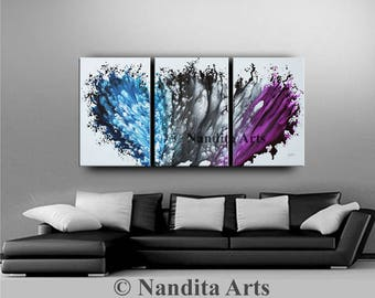Painting, Abstract Painting Modern Fine Art Large Wall Art Contemporary Art  Painting Abstract Large Original